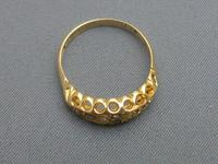 Edwardian 18ct Gold, Diamond & Sapphire Ring (6 of 6)