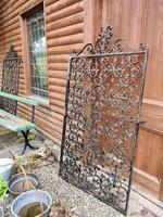 Large Iron Garden Gate (7 of 7)
