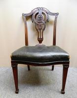 Set of 8 Mahogany Dining Chairs - H. Samuel, London (7 of 8)