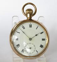 Antique Swiss Gold Filled Pocket Watch (4 of 5)