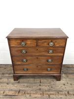 Antique George III Mahogany Chest of Drawers (4 of 12)