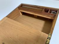 Victorian Walnut Writing Slope Box (11 of 15)