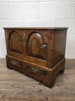18th Century Style Welsh Oak Coffer (8 of 13)