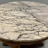 Large French Empire Marble Top Gueridon Table (4 of 8)
