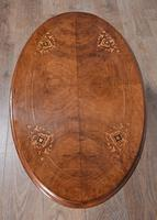 Victorian Walnut Coffee Table (3 of 3)