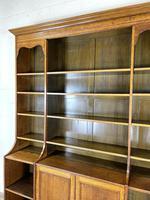 Large 19th Century Antique Oak Bookcase (7 of 11)
