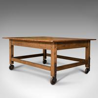 Antique Boulangerie Table, French, Pine, Shop, Bakery, Display, Victorian c.1880 (3 of 12)