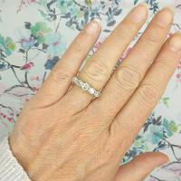 Vintage 18ct Old Mine Cut Diamond Five Stone Ring 1.35ct (3 of 10)