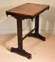 Small Regency Rosewood Occasional Side Table (7 of 7)