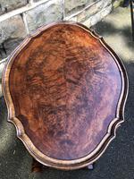 Antique Burr Walnut Nest of 4 Tables (8 of 8)