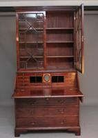18th Century Mahogany Bureau Bookcase (3 of 7)