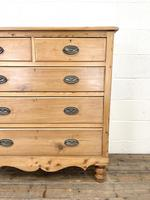 Victorian Pine Chest of Drawers (3 of 9)