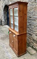 Small Antique Pine Glazed Dresser (3 of 18)