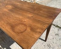 Small Antique French Elm Farmhouse Table (21 of 22)