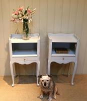 Pair of Painted Bedside Cabinets (4 of 4)