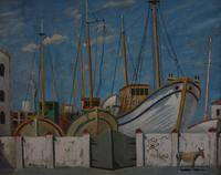 Boats in dry dock by Rudolph Ihlee (2 of 7)