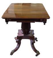 George IV Mahogany Sofa Table (5 of 9)
