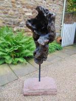 Impressive Antique Walnut Burr on Cumbrian Stone (3 of 5)