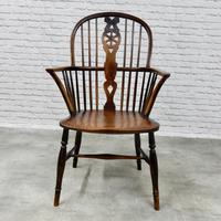 Thames Valley Highback Windsor Armchair (3 of 9)