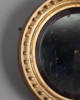 Regency Gilt Convex Mirror (2 of 4)