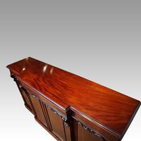 Victorian Mahogany Breakfront Sideboard (9 of 9)