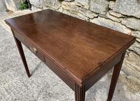 Antique Georgian Mahogany Fold Over Tea Table (10 of 27)