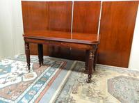 Large Regency Mahogany Concertina Action Dining Table (2 of 9)