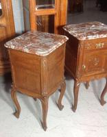 Pair of Carved Oak Bedside Cabinets (6 of 6)