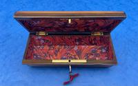 French Mahogany Glove Box with Boxwood, Ebony & Fruitwood Stripes (11 of 12)