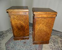 Pair of Walnut Bedside Cabinets (3 of 8)
