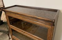 Antique Oak Stacking Lawyer's Bookcase (4 of 16)