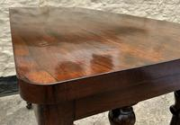 Fine 19th Century Regency Period Rosewood Veneered Occasional Writing Side Centre Table (6 of 12)