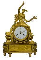 Fine French Empire Ormolu Mantel Clock (2 of 9)