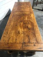 Wonderful Long French Farmhouse Dining Table (12 of 28)