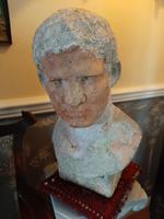 19th Century Bust of Marcus Vipsanius Agrippa (2 of 9)