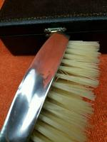 Antique Sterling Silver Hallmarked Cased Clothes Brush 1928 London British Metallising Co Ltd (6 of 9)