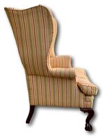 Late Victorian Wingback Armchair (2 of 5)