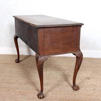 Carved Walnut Writing Desk (6 of 12)