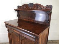 Antique 19th Century Mahogany Chiffonier Sideboard (8 of 12)