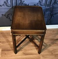 Georgian Style Mahogany Lamp Table (3 of 5)