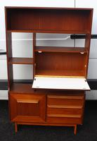 1960's Teak Room Divider with Shelves and Cupboard (4 of 4)