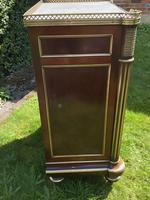 Fine Quality Brass Inlaid Commode (4 of 8)