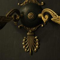 French Pair of Empire Antique Wall Lights (3 of 10)