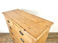 Victorian Pine Chest of Drawers (7 of 9)