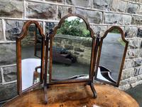 Antique Burr Walnut Kidney Shaped Dressing Table (5 of 12)