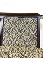 Antique Edwardian Mahogany Inlaid Parlour Sofa (14 of 15)