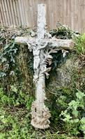 Large Architectural French Cast Iron Cross (2 of 5)