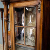 Art Nouveau Display Cabinet (10 of 11)
