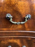 Antique Mahogany Serpentine Chest of Drawers (9 of 9)
