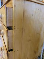 Petite Pine Chest of Drawers from the 1920s (5 of 8)